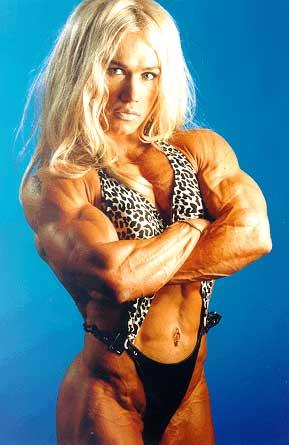 Inna Uit, Estonian female bodybuilder Nr. 1